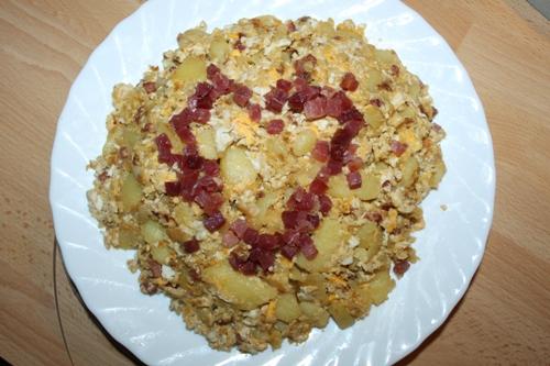 Bartgesichts Bratkartoffeln