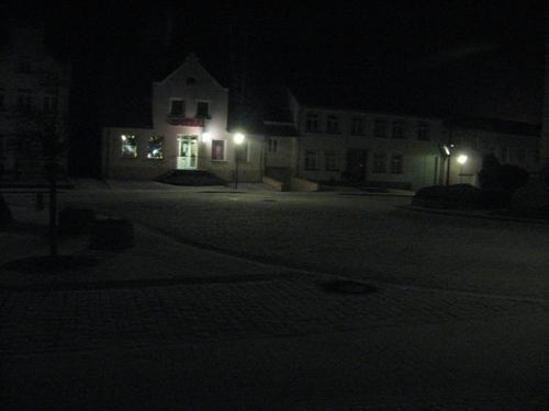 es hatte geschneit