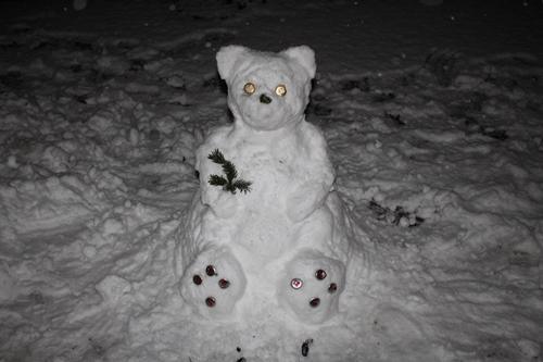 Schnee-Teddy Billy