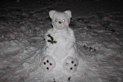 Schnee-Teddy Billy