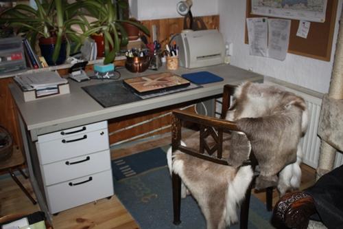der alte Schreibtisch